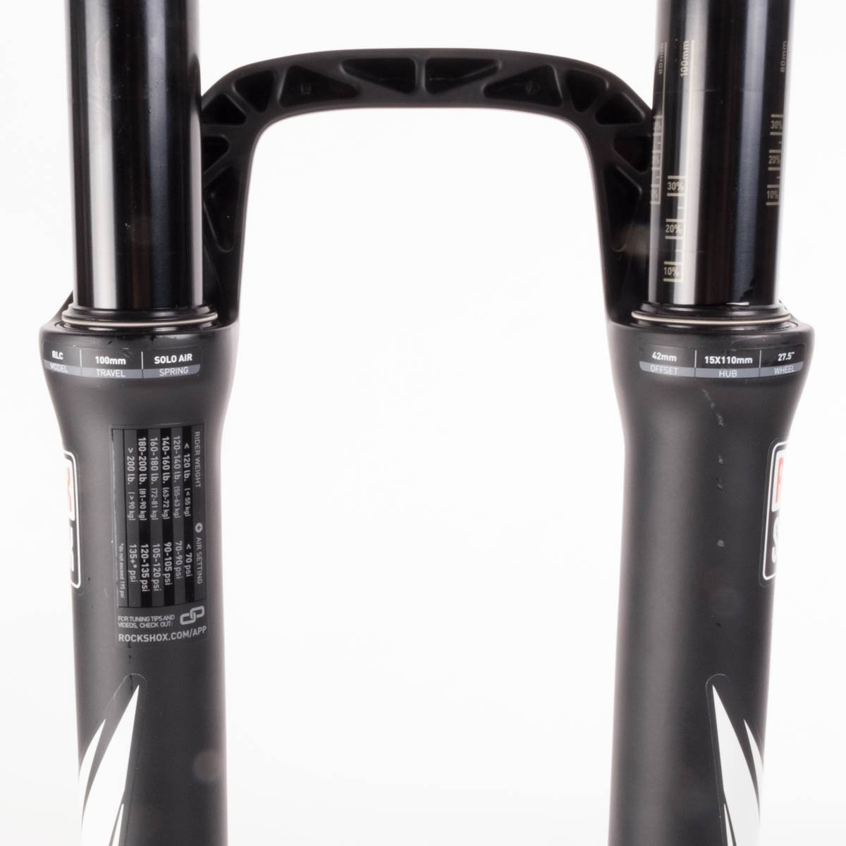 Rockshox Sid Rlc Fork 275 100mm Boost 15x110mm Rock Shox World Cup Wht Carbon 26 Crown Adjustment Tapered Steerer A1 Diffusion Black Sports Outdoors