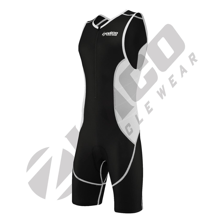 Zimco Elite Men Compression Triathlon Suit Racing Tri Suit Triathlon Short