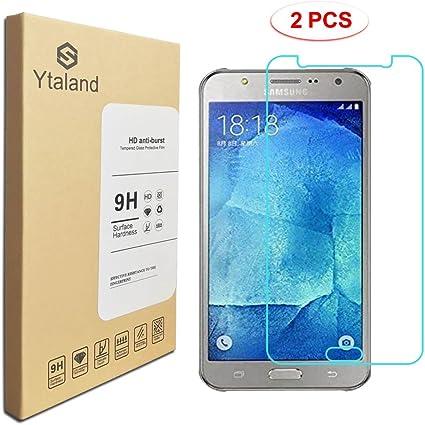 2 Pack] Samsung Galaxy J7 Neo J701M Protector de Pantalla, Cristal ...
