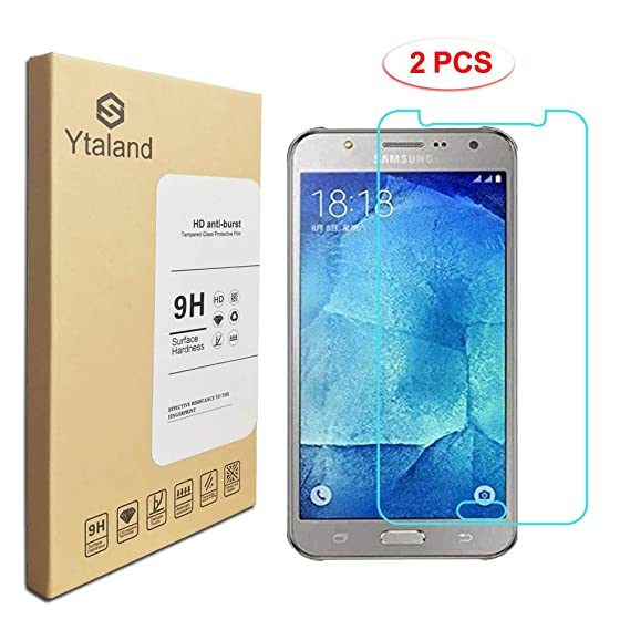 ccd8098e6 Amazon.com   2 Pack  Samsung Galaxy J7 Neo J701M Screen Protector ...