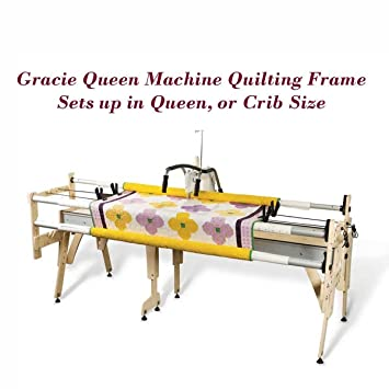 Amazon.com: Grace Gracie Queen Machine Quilting Frame, Bungee Clamps ...