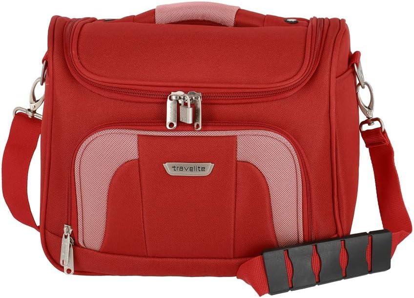Travelite Neceser de Viaje, 19 litros, 36 cm, Rojo