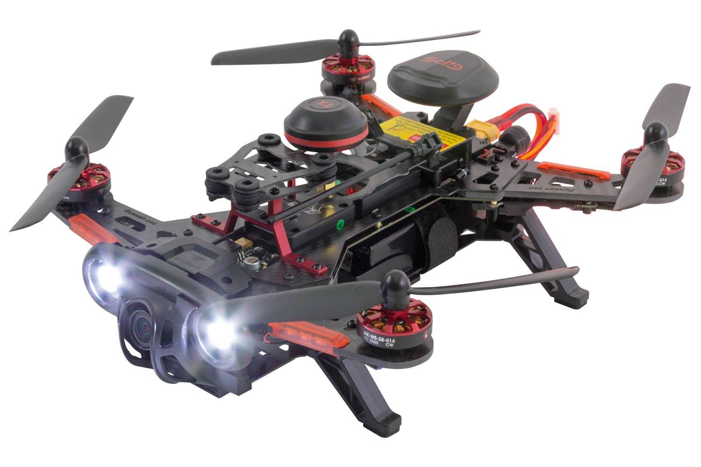XciteRC 15003790 FPV Racing Quadrocopter o Aviones no tripulados Runner, 250 Avance CC3D RTF con la batería de la cámara de Alta definición