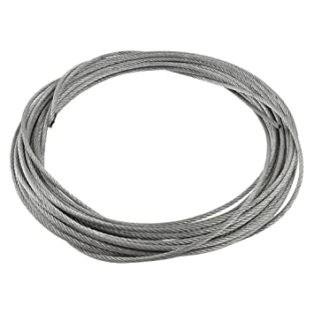 3mm Diameter Flexible Stainless Steel Wire Rope Cable 12 Meter ...