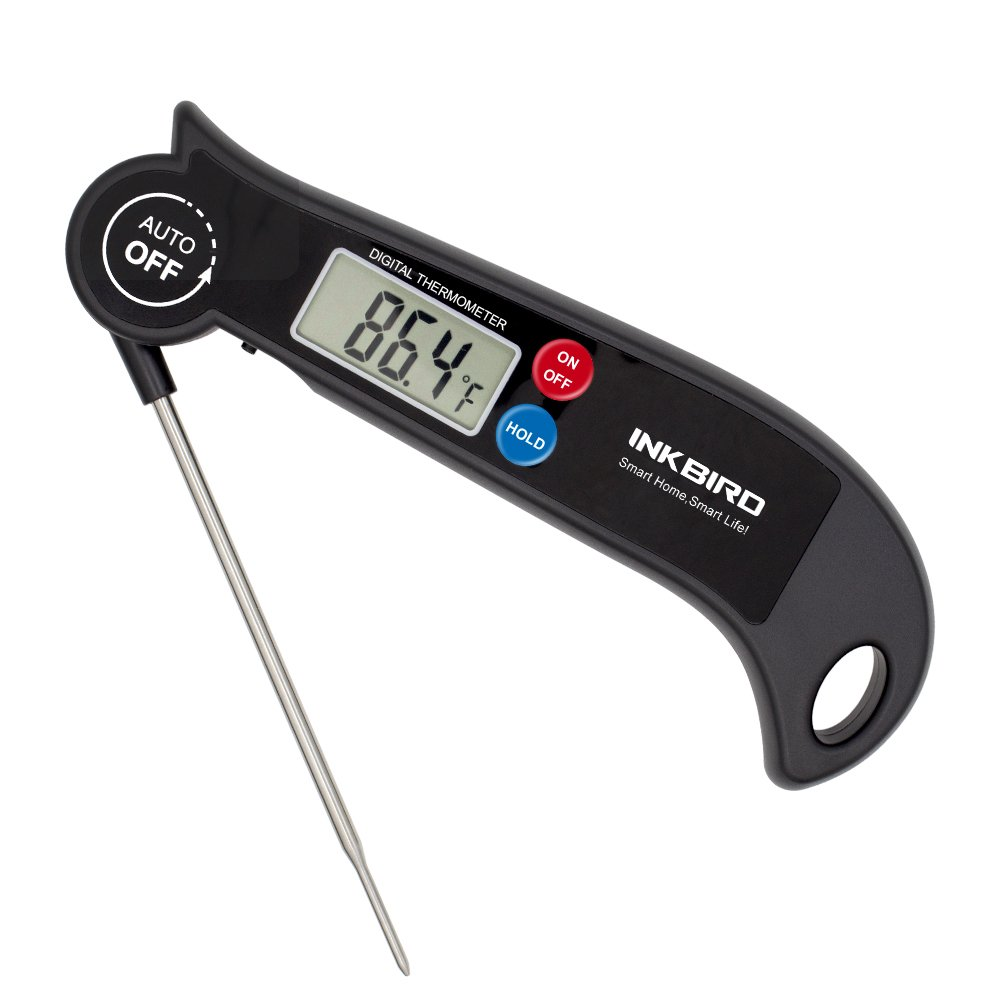 Inkbird Digital Instant Read Meat Thermometer Regular Cooking Barbecue Grill CandyThermometer Fast Read for Oven Kitchen Smoker Drum