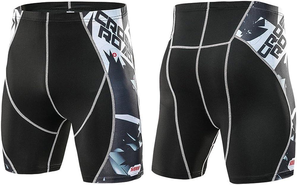 LEERYAAY Cargo/&Chinos Mans Printed Workout Leggings Fitness Sports Running Yoga Athletic Short Pants