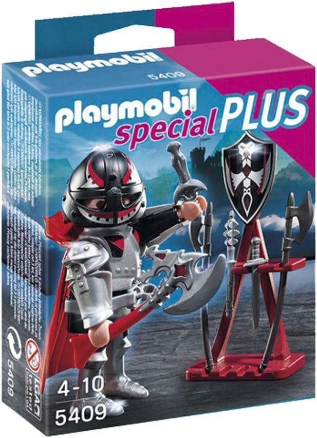 PLAYMOBIL Especiales Plus - Caballero con armería (5409): Amazon.es: Juguetes y juegos