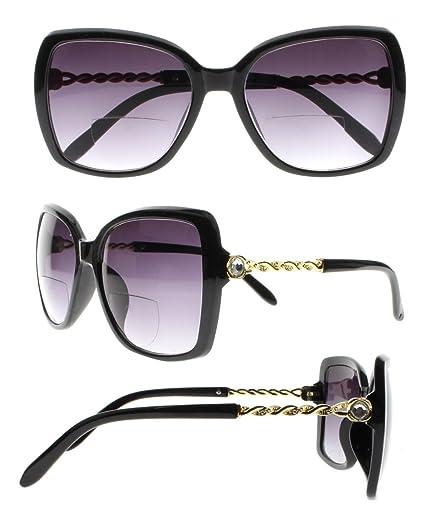 Gafas de sol elegantes con brillantes de imitación ...