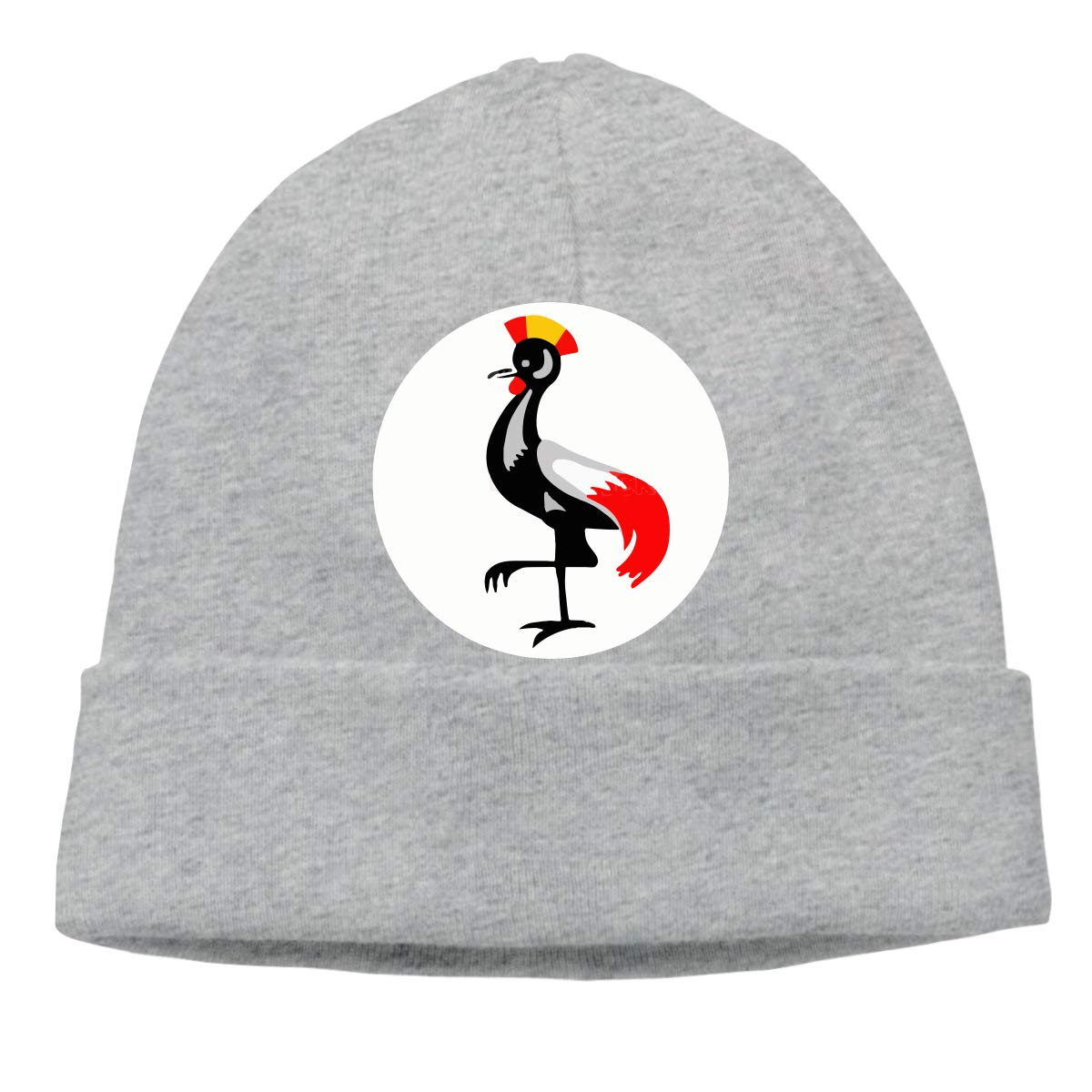BBlooobow Mens/&Womens Uganda Symbol Soft Skull Beanie Cap