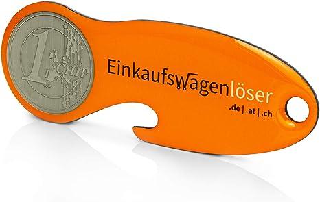 Code24 Einkaufswagenlöser Münze Profiltiefenmesser Schlüsselanhänger Mit Einkaufschip Schlüsselfinder Inkl Registriercode Für Schlüsselfundservice Einkaufswagenchips Key Finder Orange Baumarkt