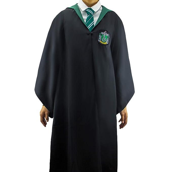 Harry Potter - Capa - Oficial -Cinereplicas (Small Adultos, Slytherin)
