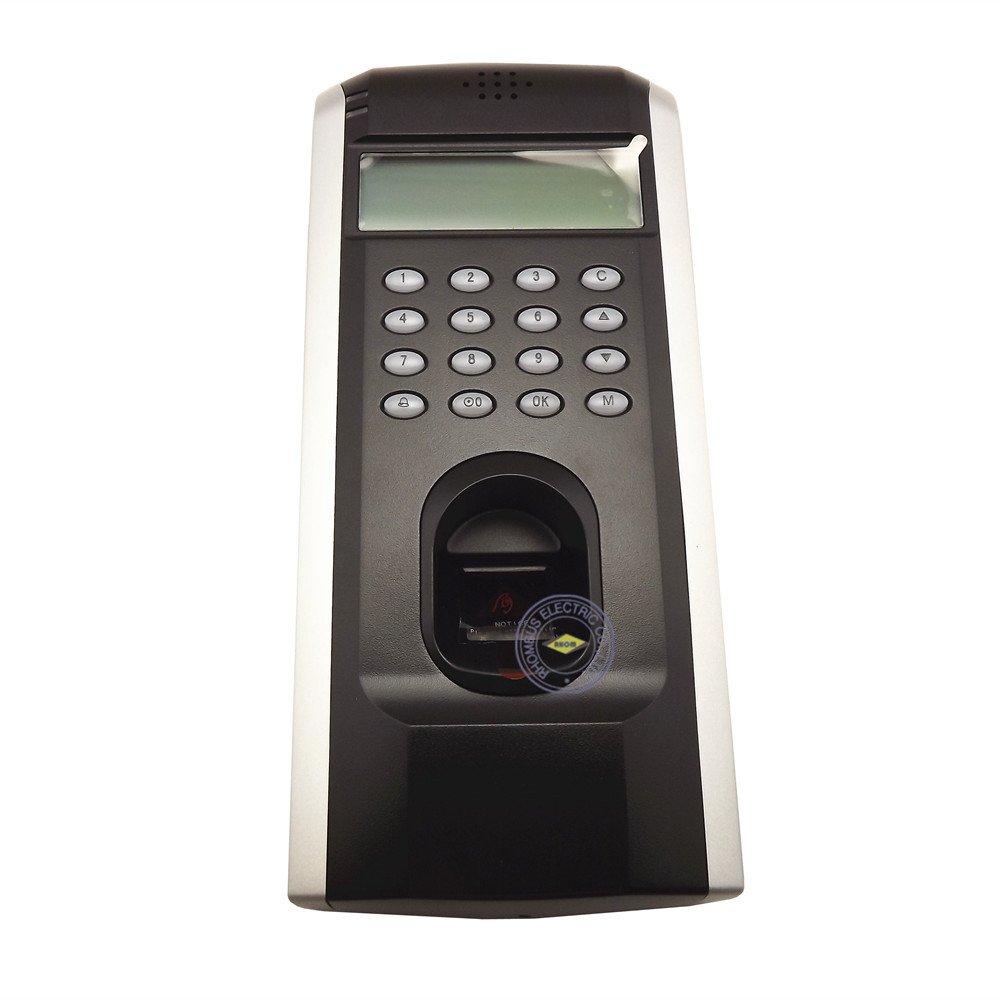 ZKSoftware F7 + de control de acceso biométrico de huellas digitales asistencia reloj de tiempo + TCP/IP: Amazon.es: Bricolaje y herramientas