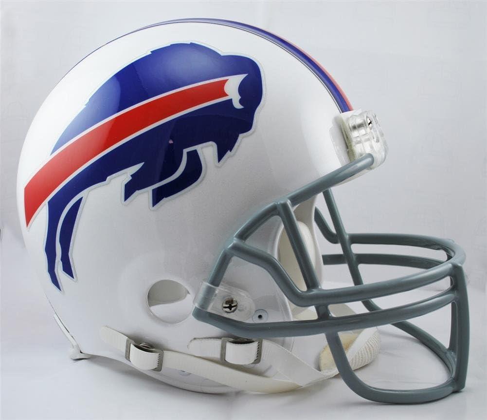 NFL Buffalo Bills Full Size Proline VSR4 Football Helmet : Sports Related Collectible Full Sized Helmets : Sports & Outdoors