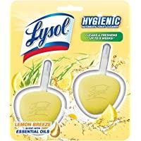Lysol Hygienic Automatic Toilet Bowl Cleaner, Lemon Breeze, 2ct