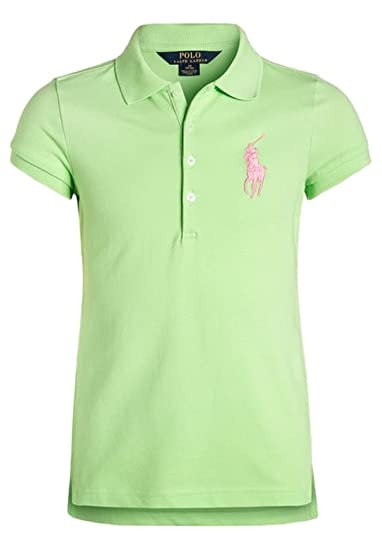762fff526a1d62 Polo Ralph Lauren - T-Shirt - Fille Florida Green  Amazon.fr ...