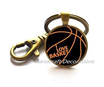 Baloncesto llavero - Llavero - de deporte baloncesto joyas ...