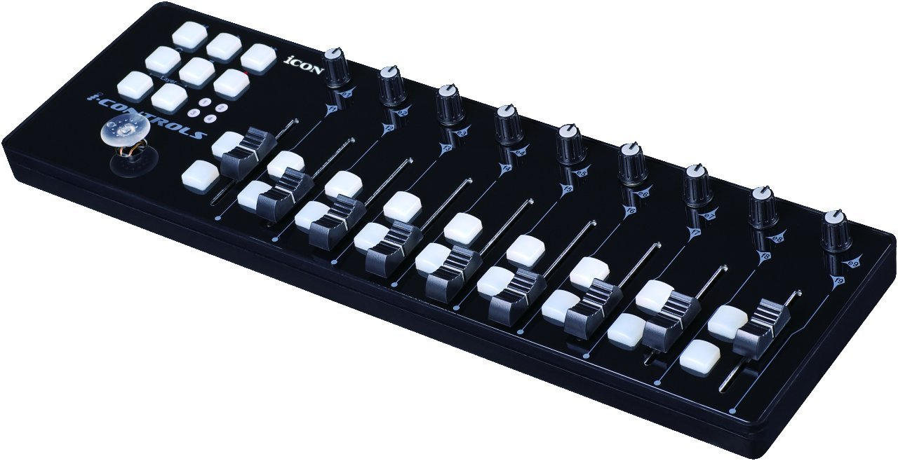 Icon i-Controls - Potable 9-Fader MIDI Controller by Icon Pro Audio