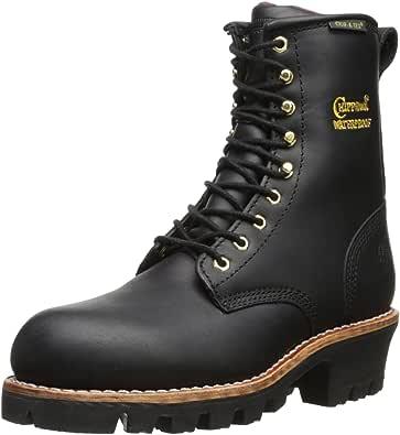 "Chippewa Women's 8"" Waterproof Insulated Steel Toe EH L73050 Logger Boot"