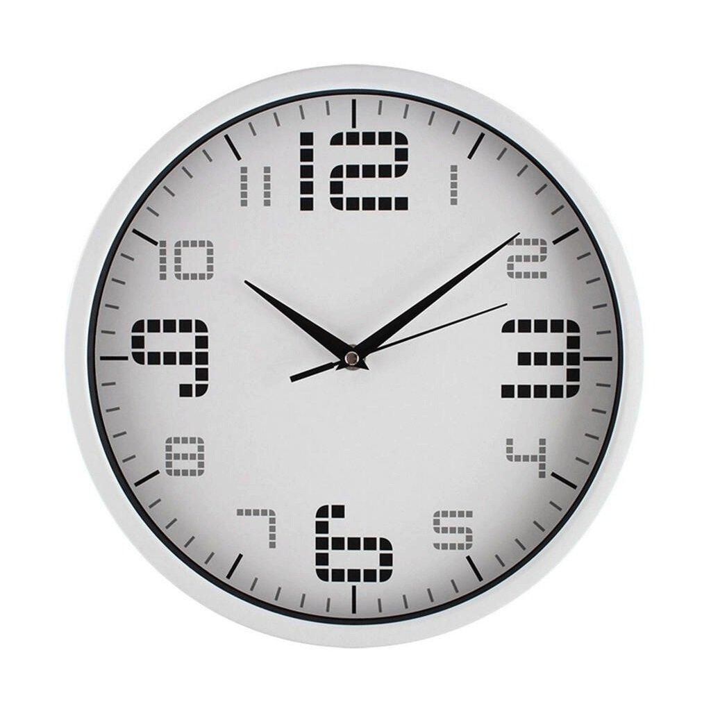 GAOLILI オフィスミュートウォールクロックリビングルーム時計ベッドルームクォーツ時計 B07C3RW9FG