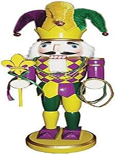 "Santa's Workshop 70223 Mardi Gras Nutcracker, 14.5"""