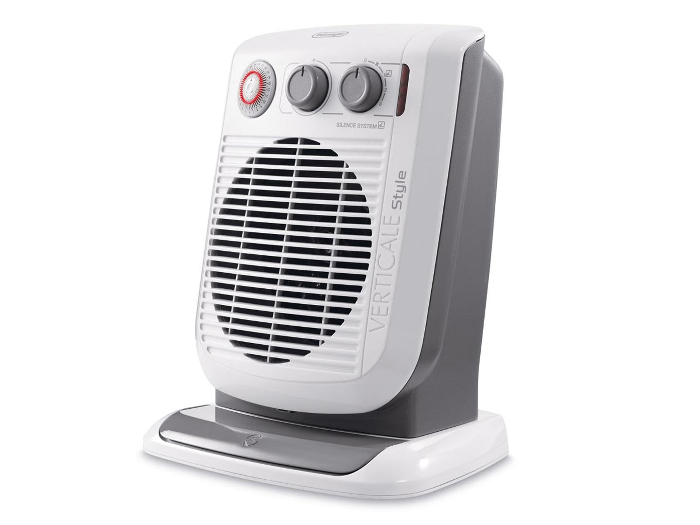 DeLonghi HVF 3552 TB Indoor Grey,White 2400W Fan electric space ...