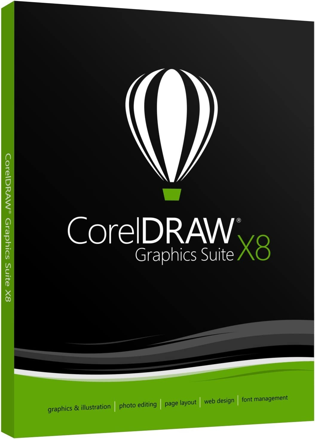 CorelDRAW Graphics Suite X8 Academic (Old Version)