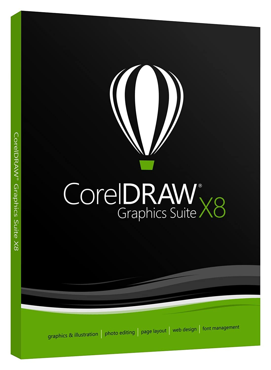CorelDRAW Graphics Suite X8 Academic (Old Version)