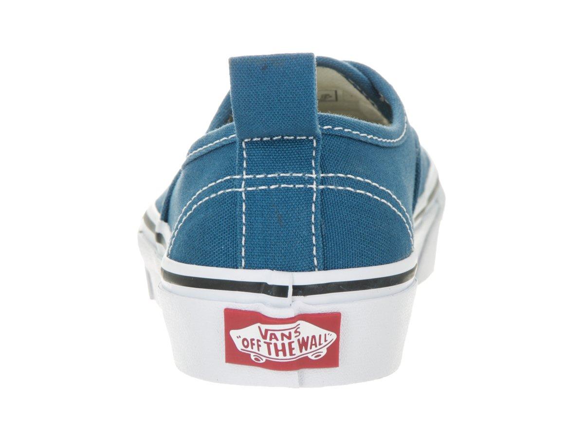 Vans  Authentic Elastic (Elastic Lace) Skate Shoe B01E5Z66Y4 10.5 Little Kid M|(Elastic Lace) Navy/True White