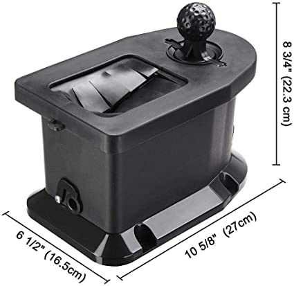 Amazon Com Googgig Universal Golf Club And Ball Washer Cleaner Tool Golf Cart Pre Drilled Mount Sports Outdoors