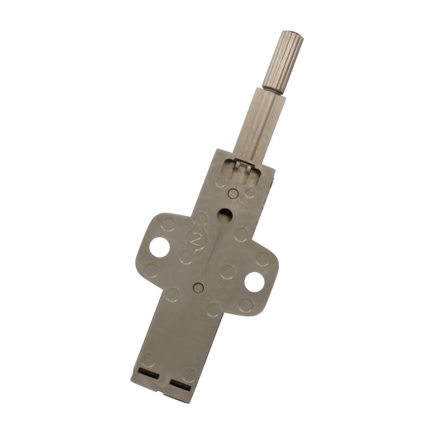 Rok Hardware Slim Brushed Nickel Drawer Cabinet Door Push Touch Latch Kitchen Home 10 Pack, Linear