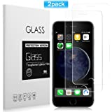 [2 Pack] iPhone 6/6S Screen Protector, Basse Premium Tempered Glass with 9H Hardness High Definition Anti-Scratch Screen Protector for iPhone 6, iPhone 6S [4.7 inch]