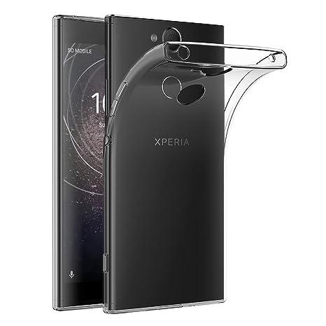 AICEK Funda Sony Xperia XA2, Transparente Silicona Fundas para Sony Xperia XA2 Carcasa Silicona Funda Case (5,2 Pulgadas)
