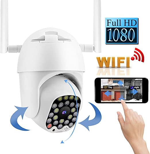 WIFI 1080P ONVIF P2P Outdoor Wireless IR Cut Security IP Camera HD Night Vision