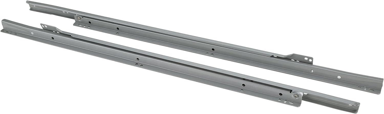 Grey Steelex D4323 18-Inch Euro-Style Self-Closing Drawer Slides