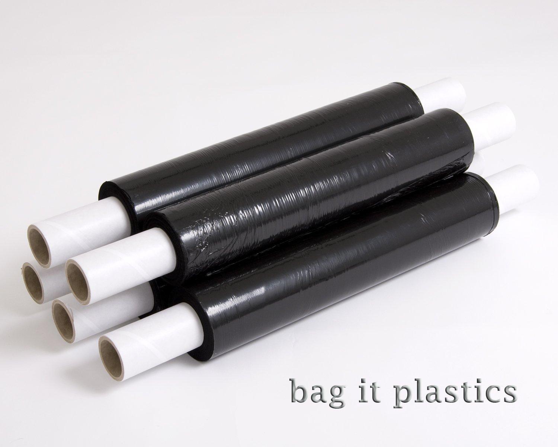 6/negro Bag it plastics/ /Rollo de film transparente 400/mm x 250/m