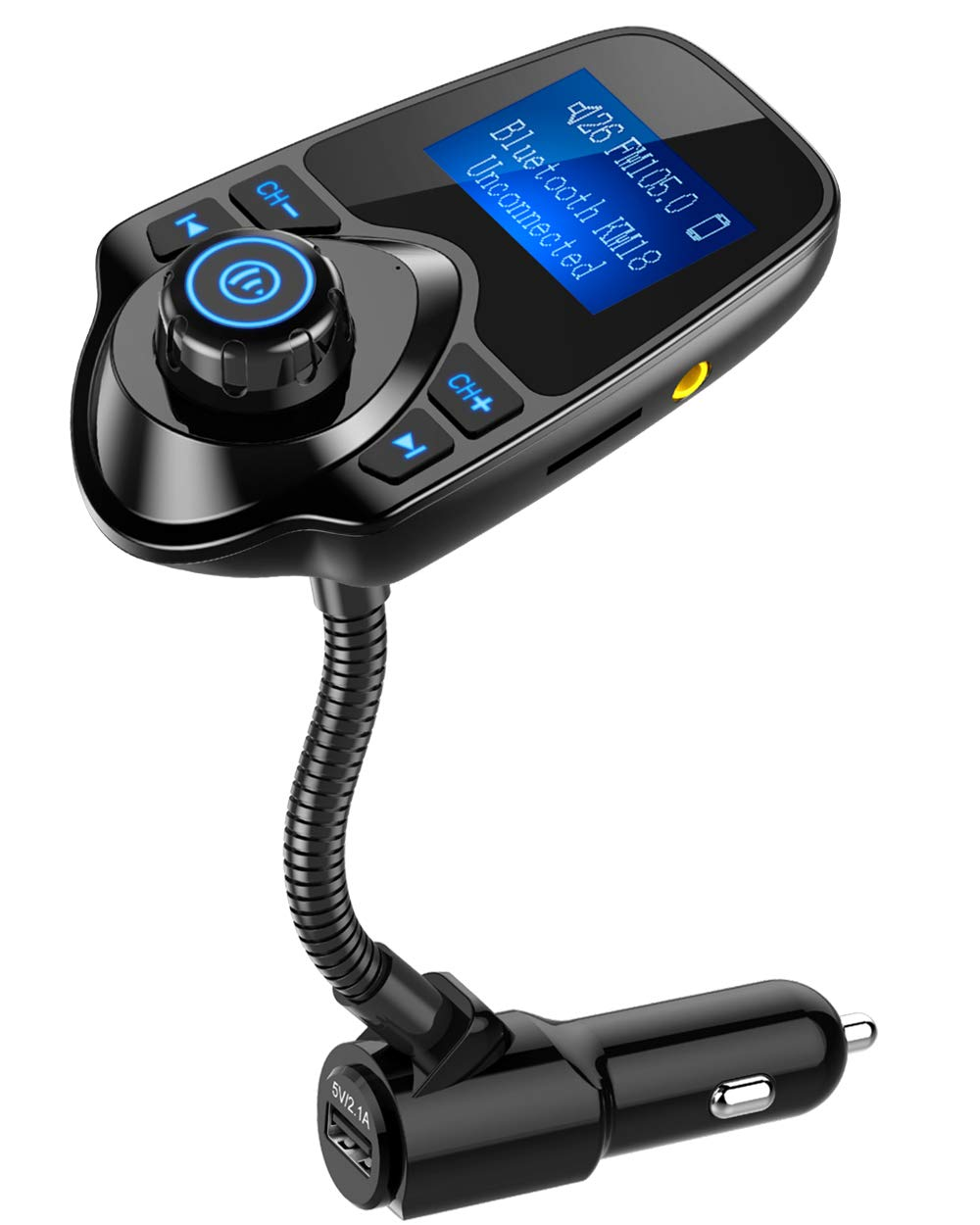 Nulaxy Bluetooth Car FM Transmitter}