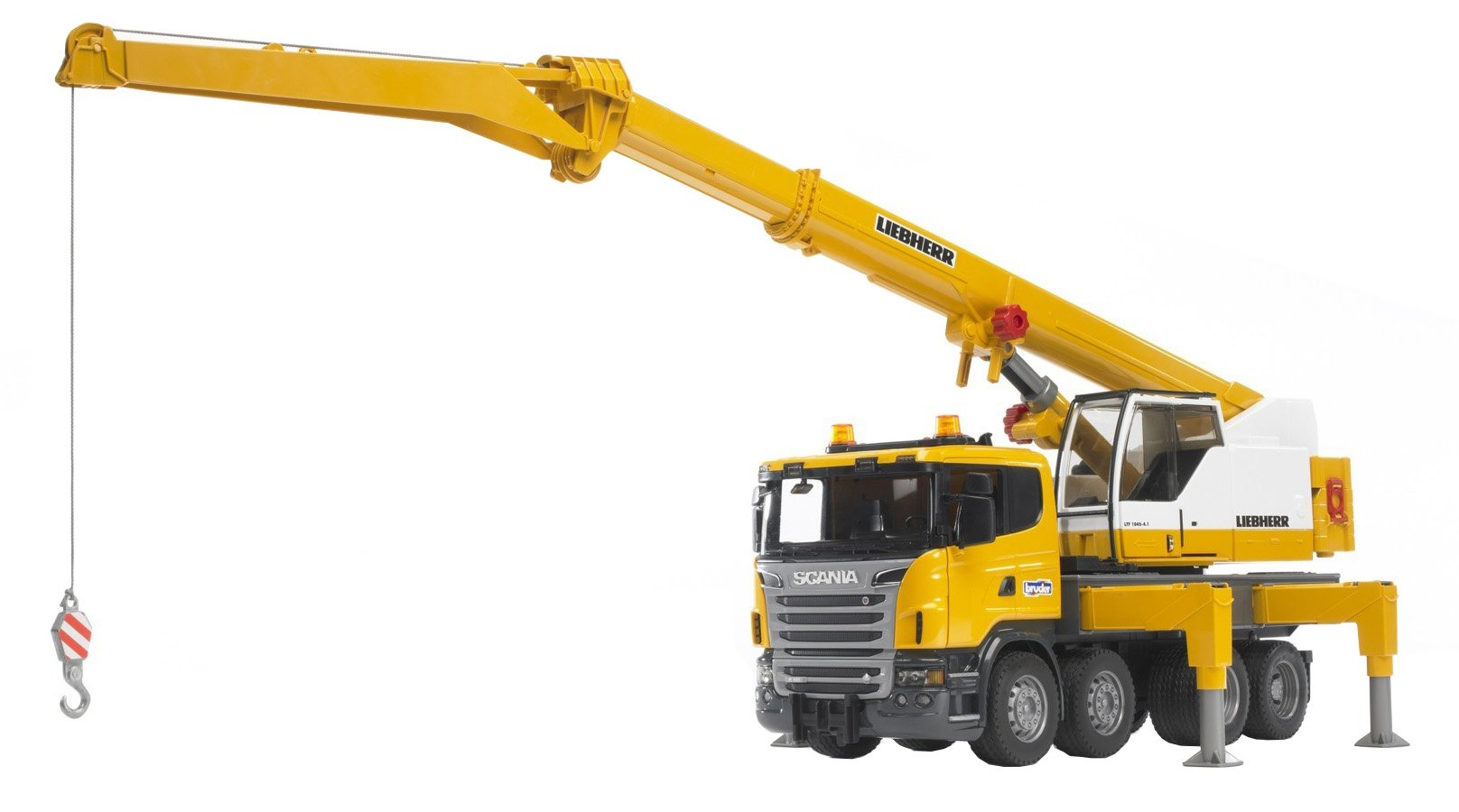 Bruder Scania R-Series Liebherr Crane with Lights and Sounds