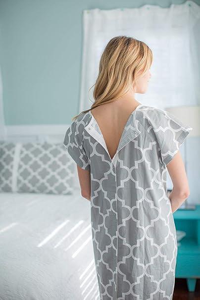 Amazoncom Gownies Designer Hospital Patient Gown 100 Cotton