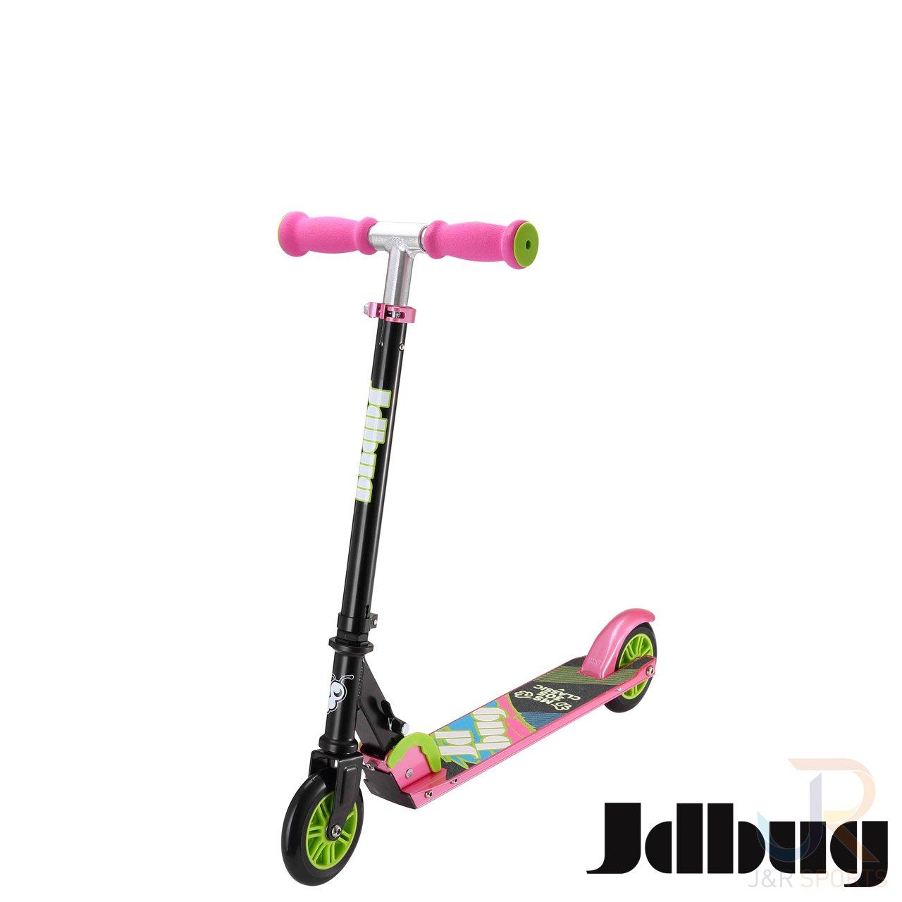 JD Bug EZ Easy - Patinete plegable clásico con dos ruedas ...