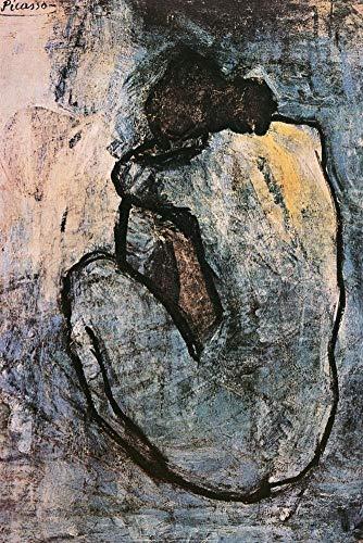 Pablo Picasso Blue Nude Decorative Fine Art Poster Print 16 by 20