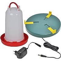Plato calentador de agua Ø25cm, para bebedero, antihielo