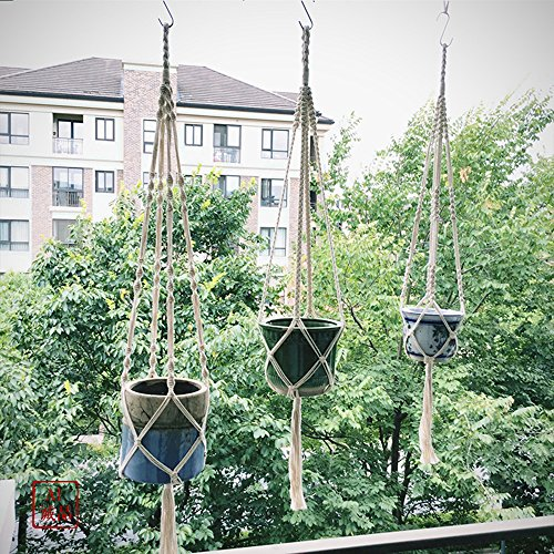 30% savings on a 3-pack of macrame plant hangers