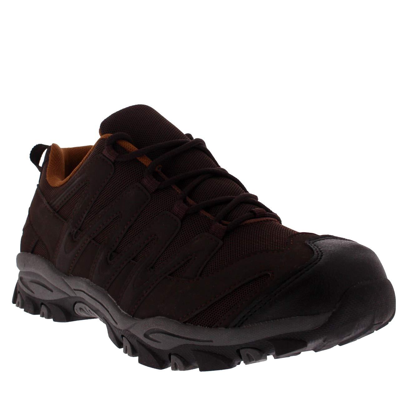 Get Fit Femmes De Plein Air Poids L/éger en Marchant Randonn/ée Trekking Durable des Chaussures Marron//Marron BS0217 EU36//UK3