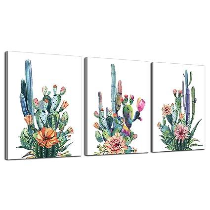Amazon.com: Wall Art for living room Canvas Prints Artwork bathroom ...