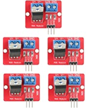 Haljia IRF520 MOS FET MOSFET-Treibermodul f/ür Arduino Raspberry Pi ARM MCU 5 St/ück