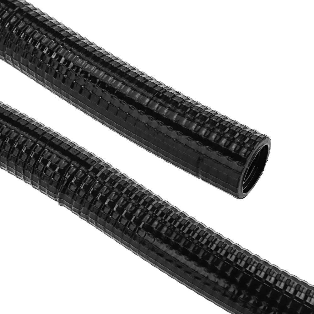 Tubo Corrugado Reforzado PVC M-32 50 m Negro BeMatik