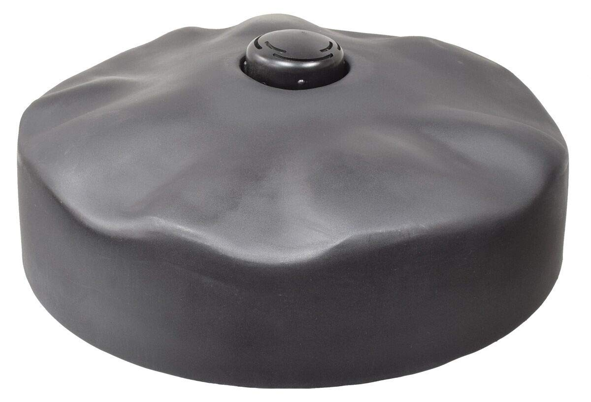 EasyPro+ 24'' Floating Pond Fountain Head with Narrow Umbrella Nozzle - Black Float Cover
