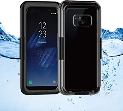Donkeyphone - Carcasa ACUATICA Negra para Samsung Galaxy S8 Plus ...