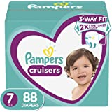 Pampers Cruisers Diapers, Size 7, 88 Count