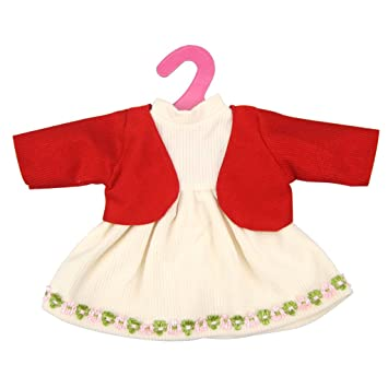 9b083c8cd884 Sharplace Handmade Doll Party Dress Red Dress Fashion Clothes For 16 ...